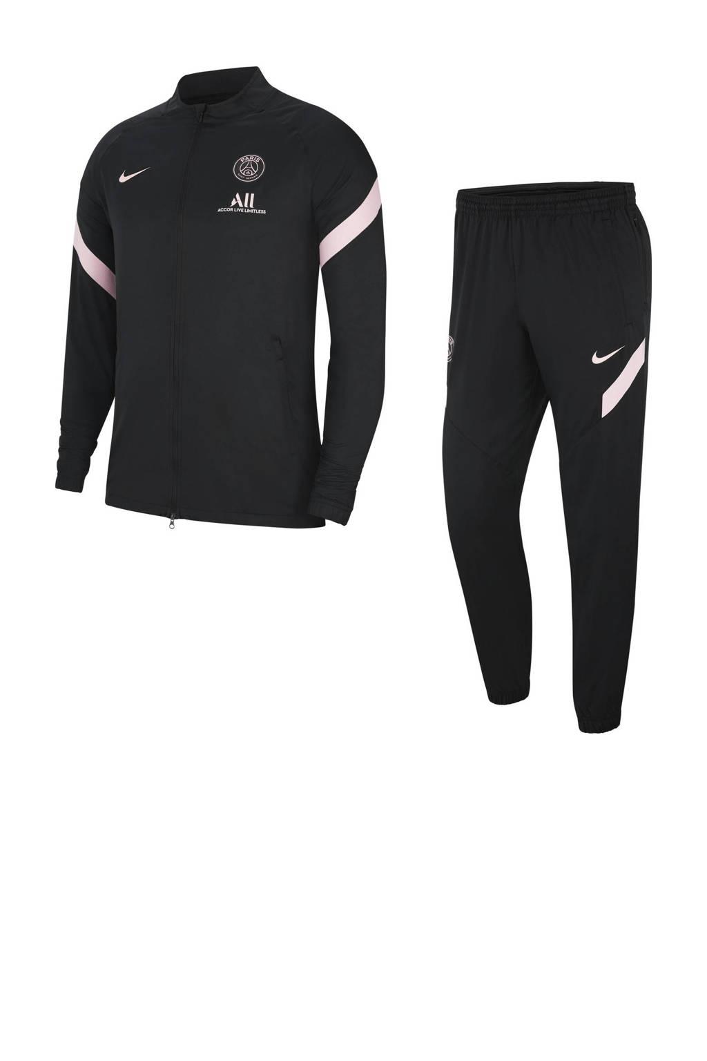 Nike Senior Liverpool FC trainingspak zwart/lichtroze, Zwart/lichtroze