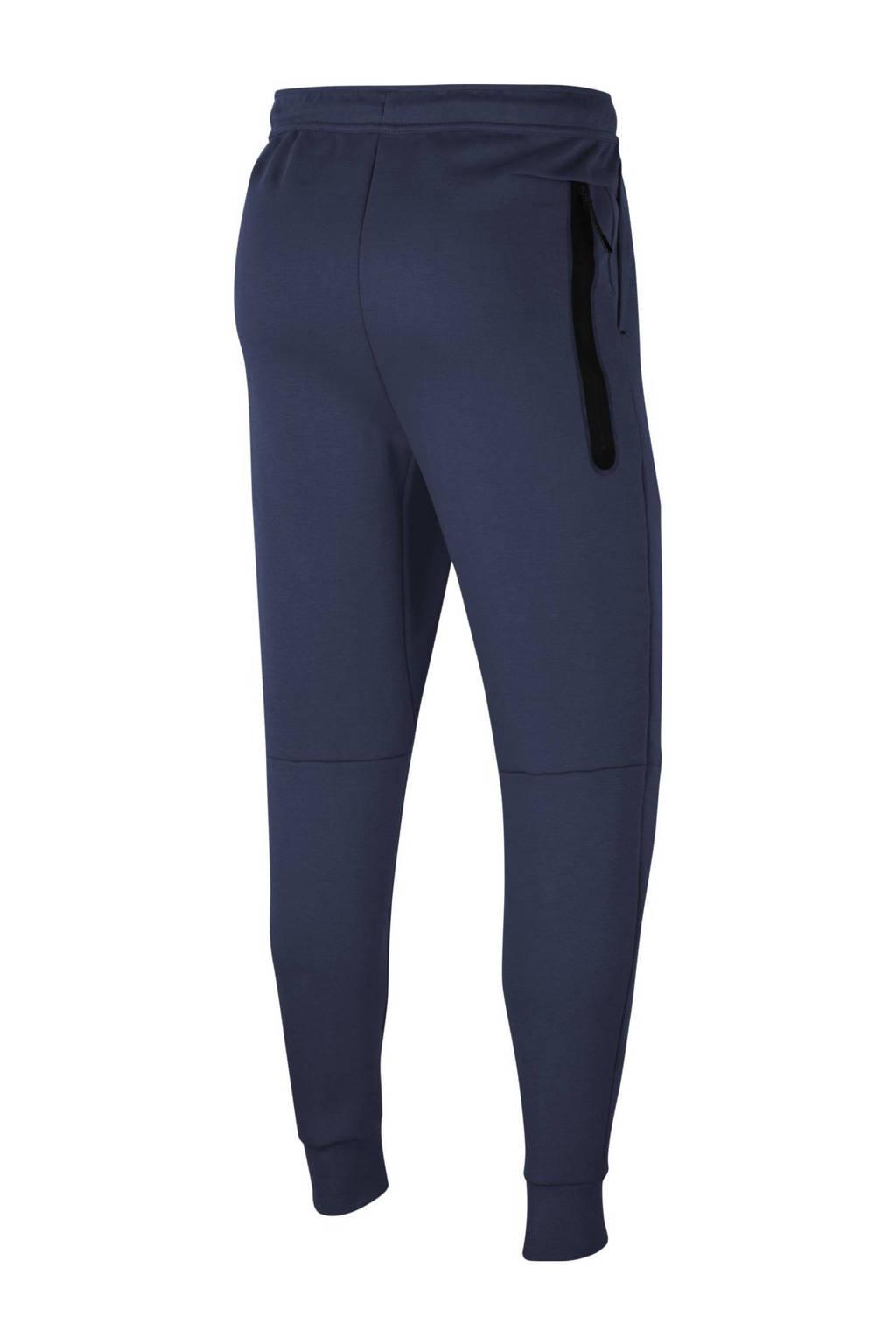 Nike Tech Fleece joggingbroek donkerblauw/zwart, Donkerblauw/zwart