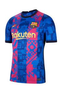Nike Senior FC Barcelona voetbalshirt, Blauw