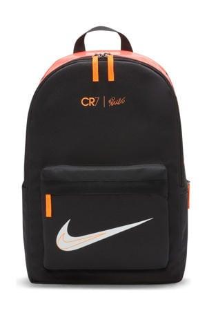 CR7 rugzak zwart/oranje
