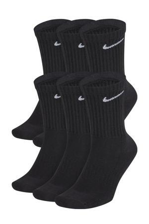 sokken Everyday Crush - set van 6 zwart