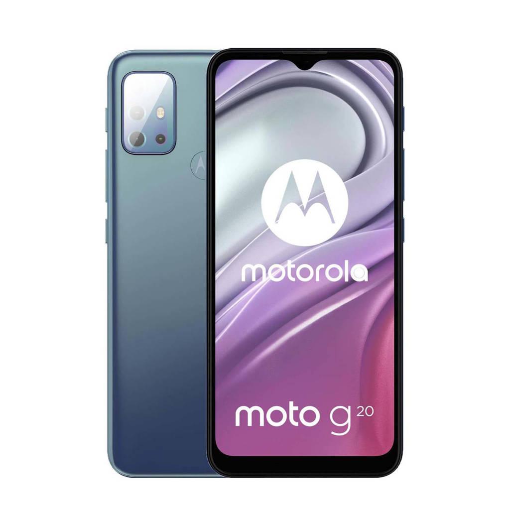 Motorola Moto G20 smartphone (blauw), Blauw