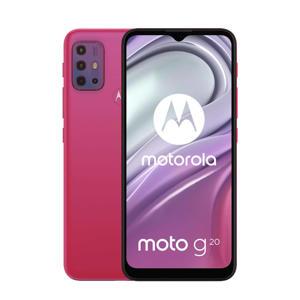 Moto G20 smartphone (roze)