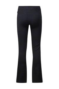 Retour Denim flared broek Bouskoura met zebraprint donkerblauw/zwart, Donkerblauw/zwart
