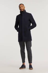 Matinique  jas Harvey met wol donkerblauw, Donkerblauw