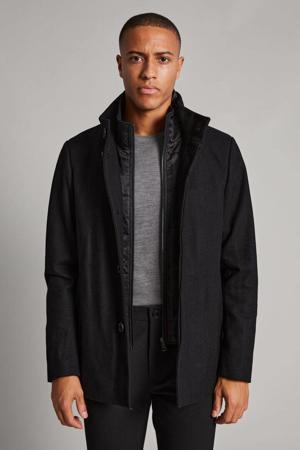 jas MAharvey met wol zwart