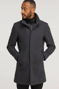Matinique  jas Harvey met wol grijs melange, Grijs melange