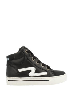 41945  hoge sneakers zwart/wit
