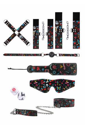 tattoo style bondage kit - 10 stuks