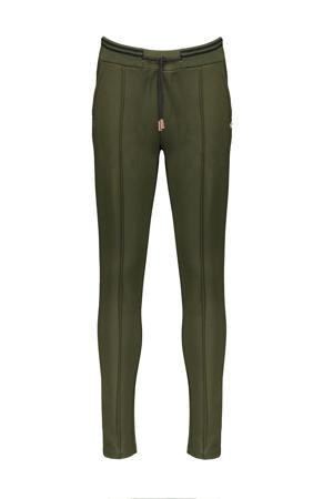 skinny broek Secler army groen