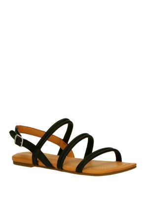 Mytis 1119760 leren sandalen zwart