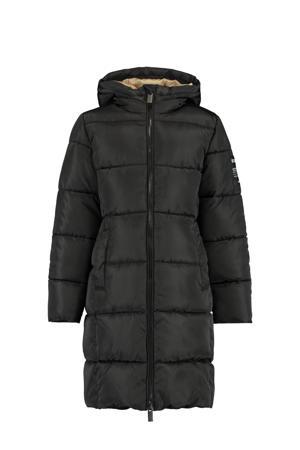 gewatteerde winterjas Janey zwart