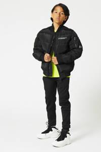 CoolCat Junior winter bomberjack zwart, Zwart