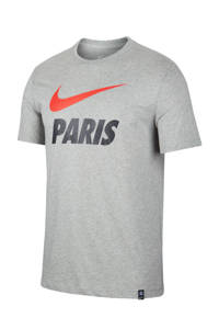 Nike Senior Paris Saint Germain voetbalshirt grijs, Grijs