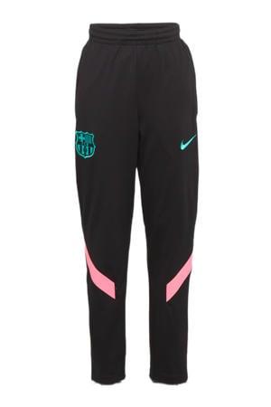Junior FC Barcelona trainingspak zwart/roze/groen