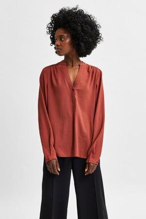 blouse SLFMIVIA terra