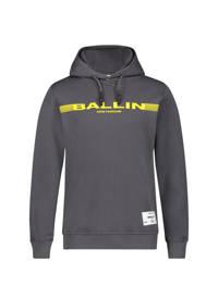 Ballin hoodie met logo antraciet, Antraciet