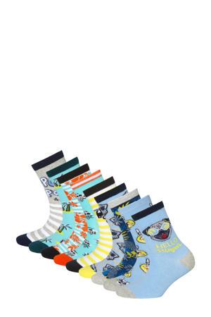 sokken - set van 10 multi