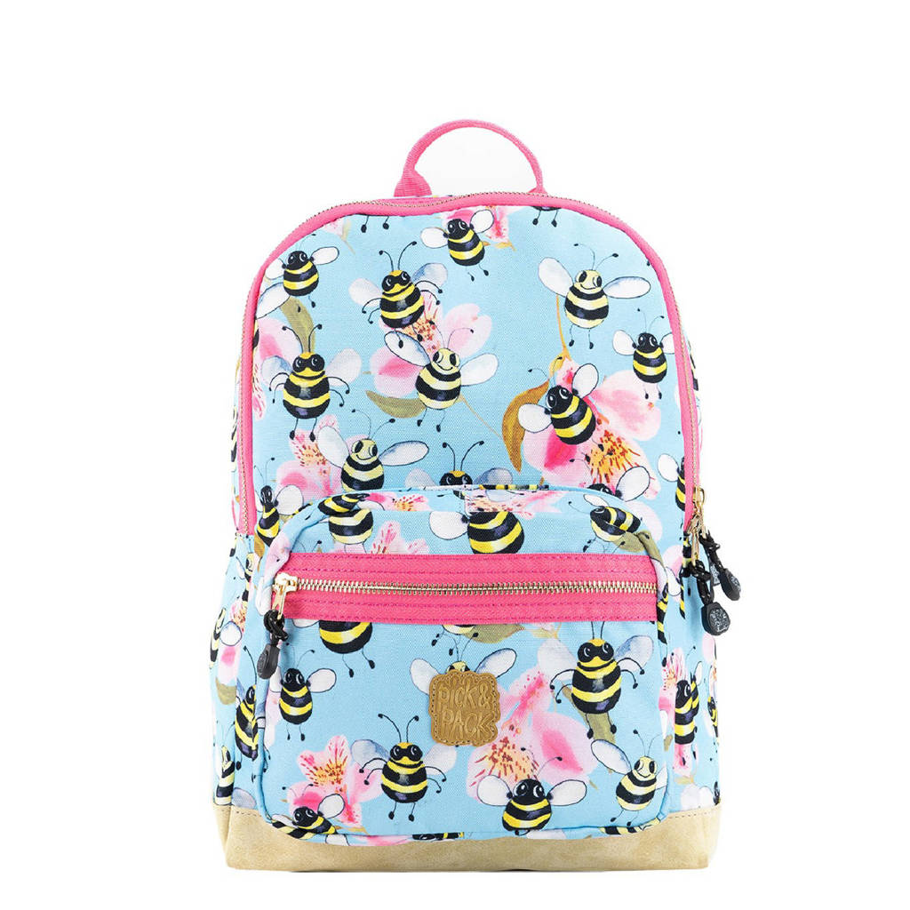 Pick & Pack  rugzak Bee M lichtblauw, Lichtblauw