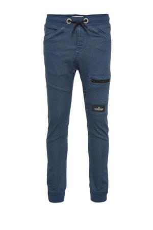 loose fit broek Charles donkerblauw