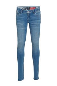 Vingino low waist skinny jeans Amiche greyish blue denim, Greyish Blue Denim