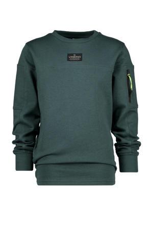 sweater Nisato donkergroen