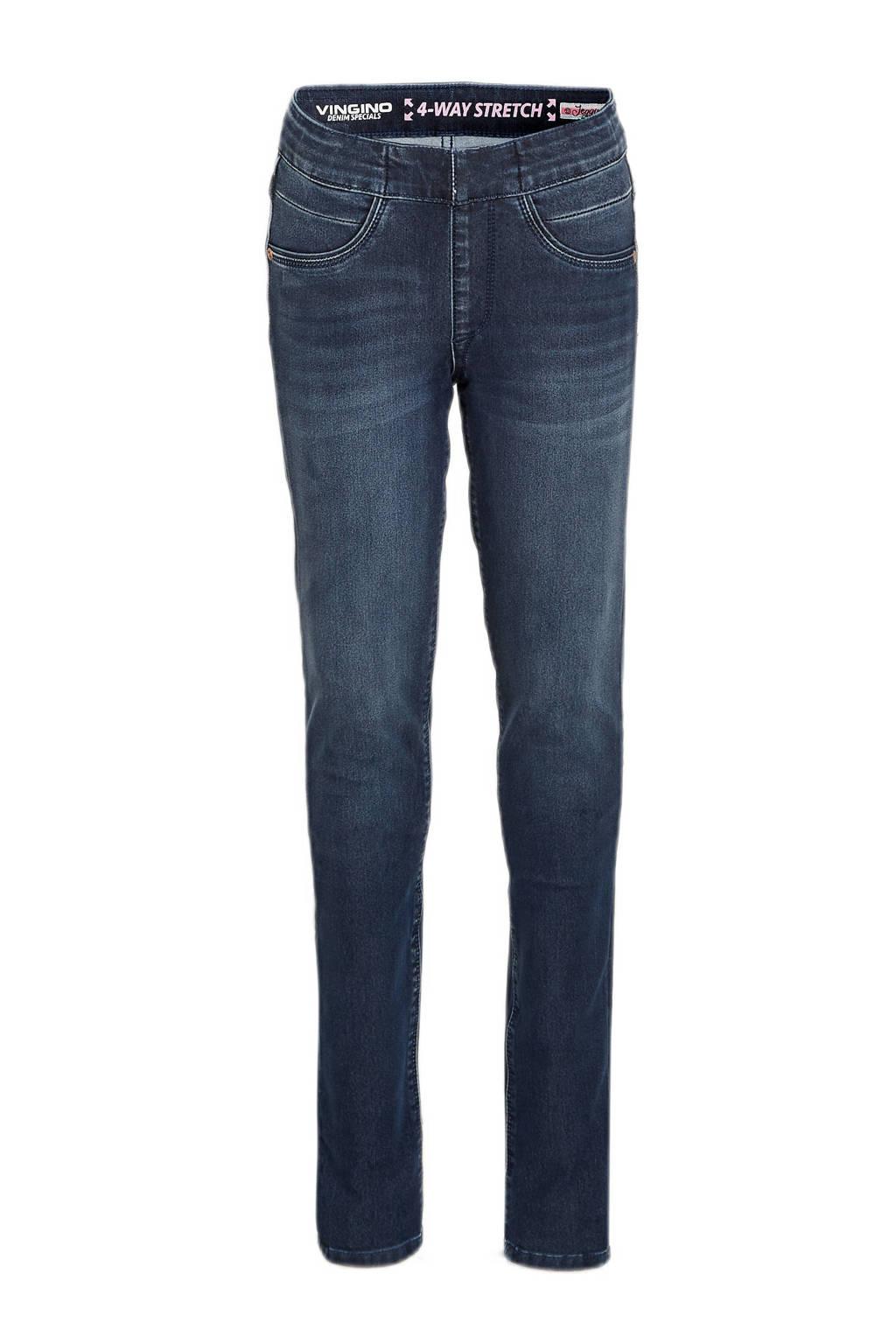 Vingino low waist super skinny jeans Bibine blue vintage