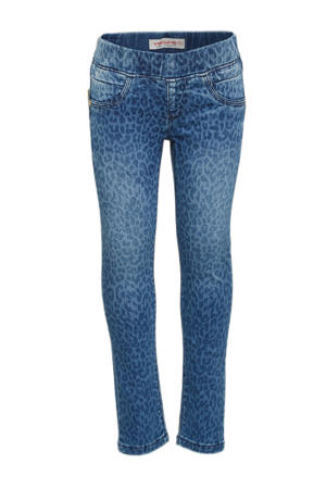 regular fit jeans Barbara met paisleyprint blue vintage
