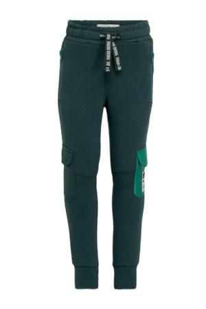 joggingbroek Sisco groenblauw