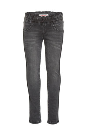 regular fit jeans Beth ruffle black vintage