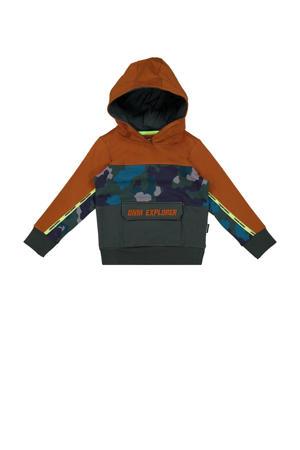 hoodie Nuri bruin/multicolor
