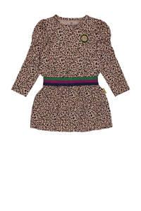 Vingino jurk Pip met panterprint zand/bruin, Zand/bruin