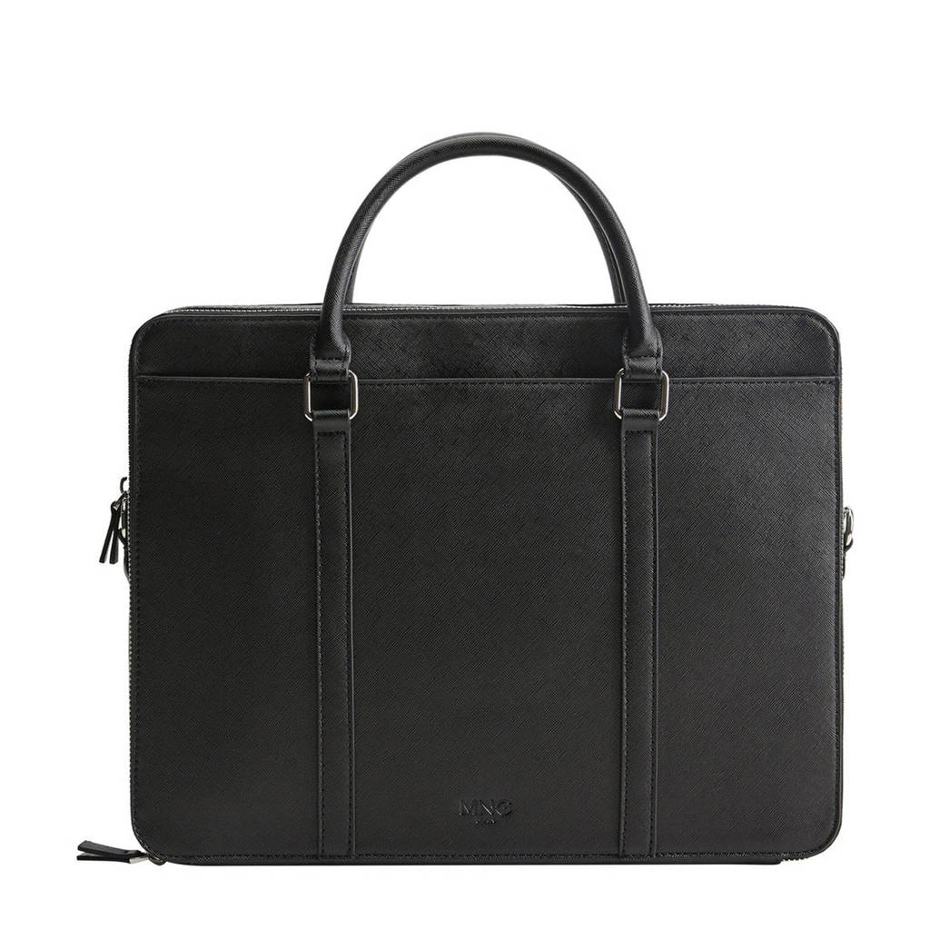 Mango Man  business tas zwart, Zwart