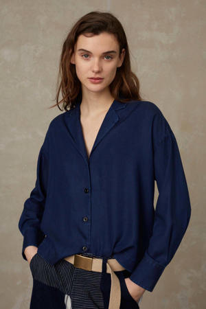 blouse ATHALIE dark denim