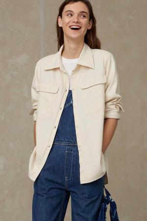 blouse CHARLENE van biologisch katoen ecru