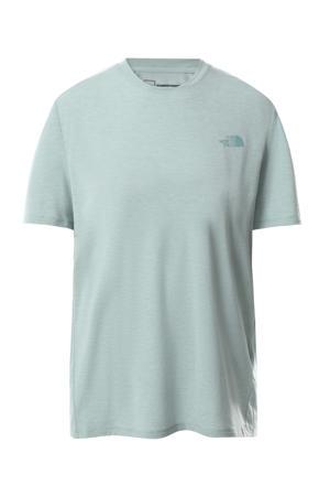 outdoor T-shirt Wander grijsblauw