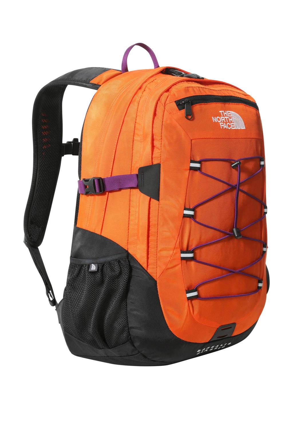The North Face  rugzak Borealis Classic zwart/oranje, Zwart/oranje