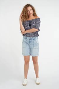 MS Mode bermuda jeans light denim, Light denim