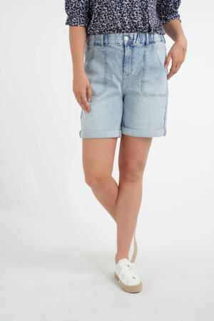 bermuda jeans light denim
