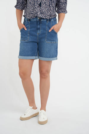bermuda jeans dark denim