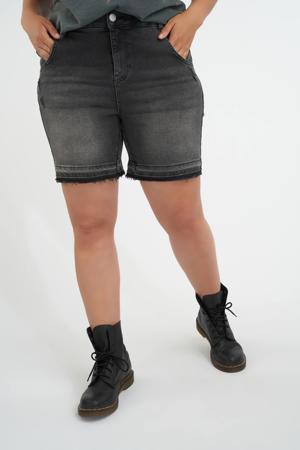 bermuda jeans antraciet