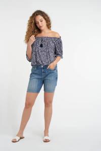 MS Mode skinny jeans short light denim, Light denim