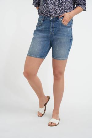 skinny jeans short light denim