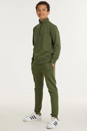 sweater Malino army groen