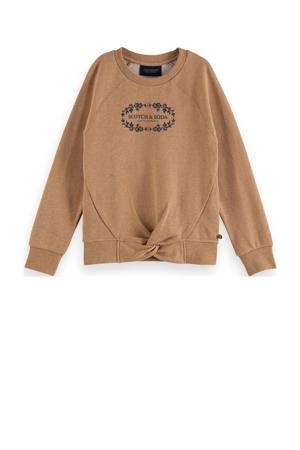 sweater zand melange
