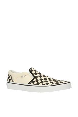 Asher Checkerboard sneakers zwart/wit