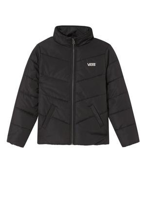 gewatteerde jas Foundry Puffer met logo zwart