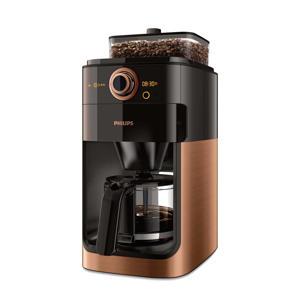 HD7768/70 Grind & Brew koffiezetapparaat (koper)
