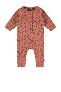 Babyface newborn baby boxpak met all over print roze/donkerblauw, Roze/donkerblauw