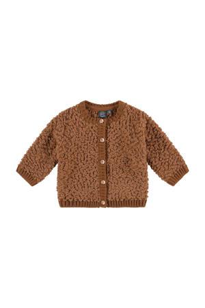baby vest bruin